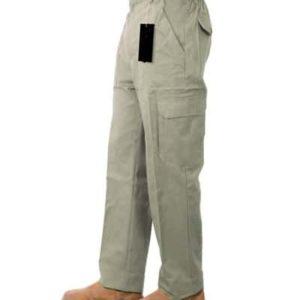 מכנסי דגמח צבע בז