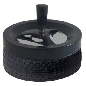מאפרה דגם צמיג שחור