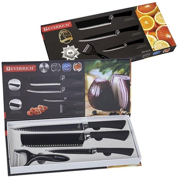 סט סכינים יוקרתי למטבח