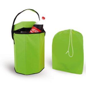 צידנית כיסא מתקפלת ירוקה