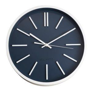 שעון קיר ספרות רומיות כחול