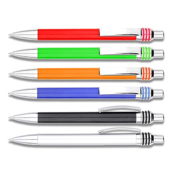 עטים ממותגים צבעוניים