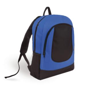 תיק גב מעוצב למיתוג כחול שחור