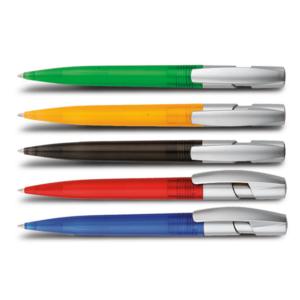 עט כדורי ממותג בצבעים שונים