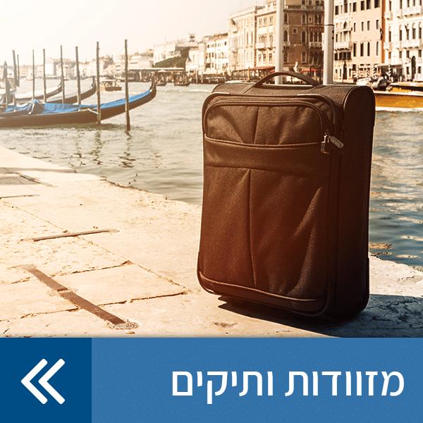 מזוודות ותיקים
