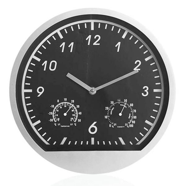 שעון קיר מעוצב עם לוגו