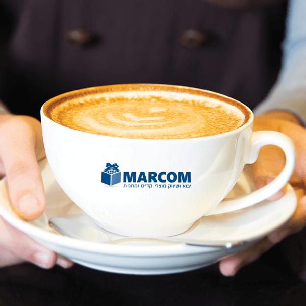 ספל קפה ממותג