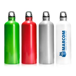 סקופ בקבוק ספורט ממותג בצבעים שונים
