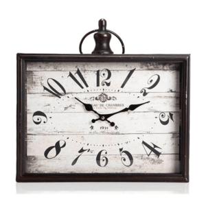 שעון קיר מלבני רטרו