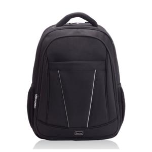 תיק גב מעוצב למחשב נייד שחור