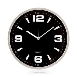 שעון קיר מעוצב שחור