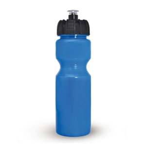 בקבוק שתיה כחול