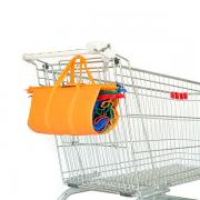 סט סלי קניות ממותגים מתקפלים 2
