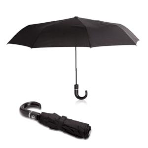 מטריה שחורה מתקפלת