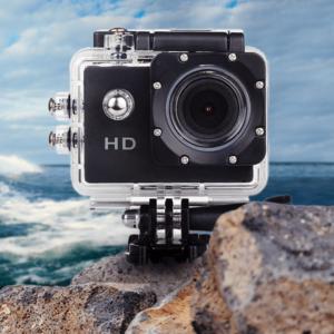 מצלמת אקסטרים עם כיסוי עמיד במים