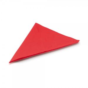 בנדנה ממותגת בצבע אדום