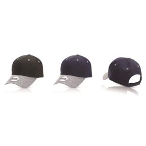 כובע מצחיה בעיצוב צעיר שחור
