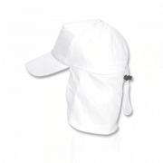 כובע מצחיה עם מגן עורף