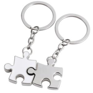 מחזיקי מפתחות פאזל מחוברים