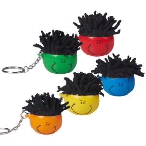 מחזיק מפתחות מנקה מסך במגוון צבעים