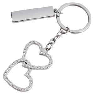 מחזיק מפתחות לבבות