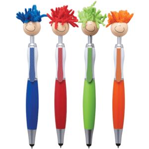 עט טאץ משעשע במגוון צבעים