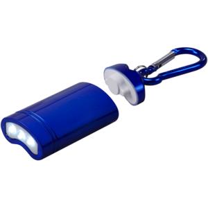 מחזיק מפתחות פנס כחול נשלף