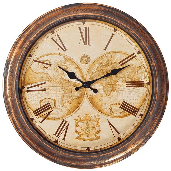 שעון קיר במראה עתיק