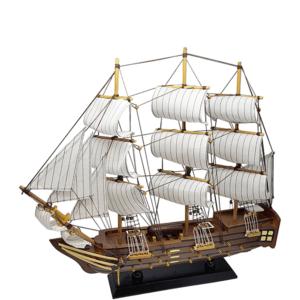 אוניית מפרש מרשימה מתנה לשולחן המנהל