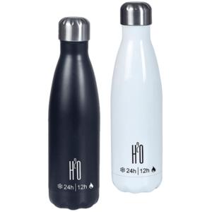 בקבוק טרמוס נירוסטה חם/קר מתאים למתנה לעובדים