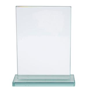 מגן זכוכית מלבני להוקרה ללקוחות