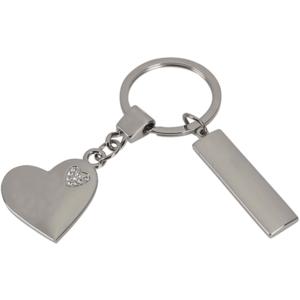 מחזיק מפתחות לב יהלומים מתנה לכנסים