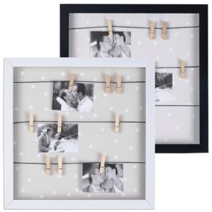 מסגרת עם אטבים לתמונות מתנה לעובדים