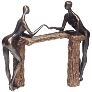 פסלון זוגיות ברונזה