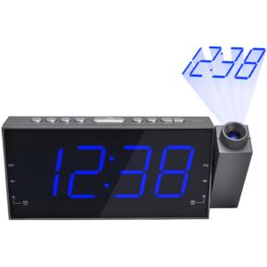 רדיו שעון עם מקרן מתנה ללקוחות