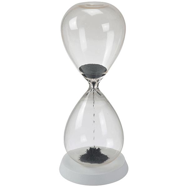 שעון חול מגנטי גדול עם בסיס