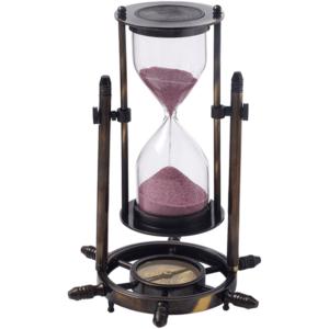 שעון חול מנחושת מהודר מתנה למנהל