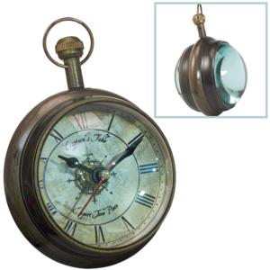 שעון כיס נחושת עתיק מתנה למנהל