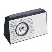 שעון עולם דינמי מעמד כרטיסי ביקור