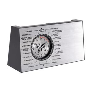 שעון עולם דינמי מעמד כרטיסי ביקור מתנה למנהל