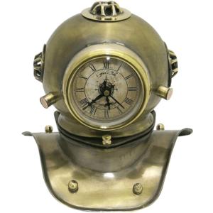 שעון קסדת אמודאים מנחושת מתנה למנהל