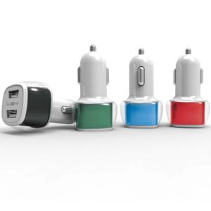 שקע USB כפול לרכב מתנה לעובדים