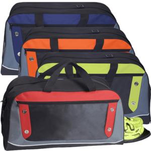 תיק צ´ימידן עם תא לנעליים ניתן להדפיס לוגו או לרקום על התיק.
