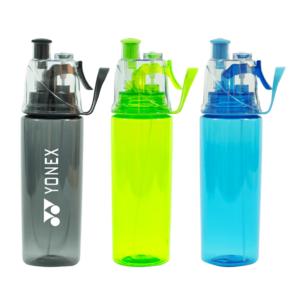 בקבוק שתיה ממותג שקוף מגוון צבעים