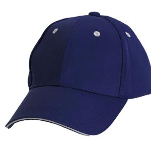 כובע מצחייה ממותג כחול נייבי