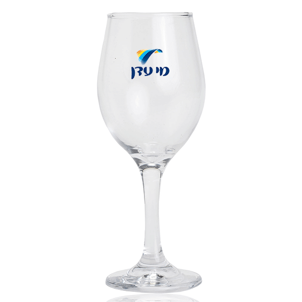 כוס יין זכוכית למיתוג