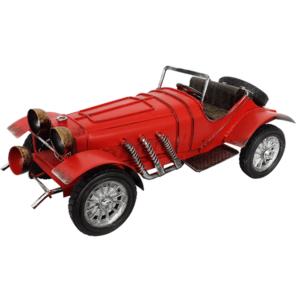 מודל רכב עתיק למשרד אדום