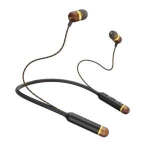 אוזניות SMILE JAMAICA WIRELESS שחור זהב