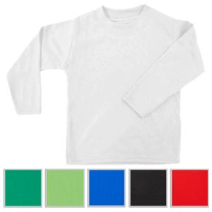 חולצה ארוכה ממותגת במגוון צבעים