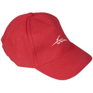 כובע מרקום למיתוג אדום